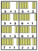Counting On and Missing Addends Addition Center (French Fr