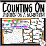 Addition with Counting On From a Given Number Using an Open Number Line 1-20