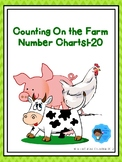 Counting On the Farm Number Charts1-20