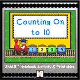Counting On to 10 to Find How Many with Train Cars