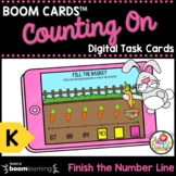 Counting On to 100 Boom Cards™ Kindergarten Math Task Card