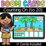 Counting On (to 20) - Digital Task Cards - Boom Cards