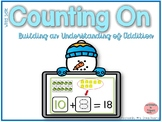 Counting On to Solve Addition Equations- Winter Theme