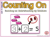 Counting On to Solve Addition Equations- Back to School Theme