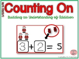 Counting On to Solve Addition Equations- Christmas Theme