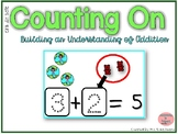 Counting On to Solve Addition Equations- Earth Day Theme