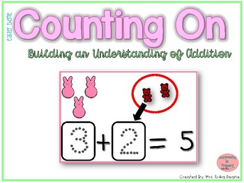 Counting On to Solve Addition Equations- Easter Theme