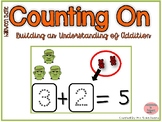 Counting On to Solve Addition Equations- Halloween Theme