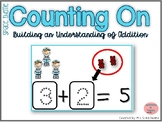 Counting On to Solve Addition Equations- Space Theme