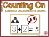 Counting On to Solve Addition Equations- Thanksgiving Theme