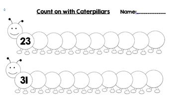 Counting On with Caterpillars Numbers 0-110