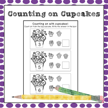 Counting On with Christmas Cupcakes