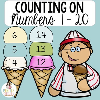 Counting On with Ice Cream - Add Scoops to Practice Counting On