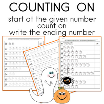 Counting On with Pumpkins and Ghosts