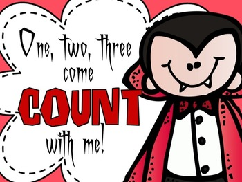 Counting : One, Two, Three Come Count with Me!!