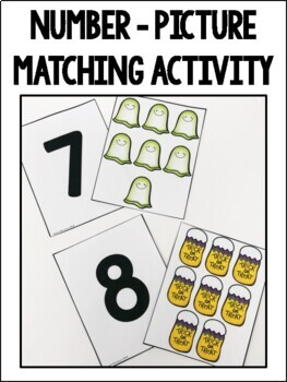 Counting & One-to-One Correspondence Activities {Halloween Edition}