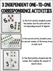 Counting & One-to-One Correspondence Activities {Christmas