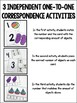 Counting & One-to-One Correspondence Activities {Summer Edition}