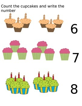 Counting One to Ten Powerpoint Activity