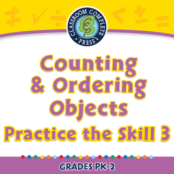 Number & Operations: Counting & Ordering Objects - Practice 3 - NOTEBOOK Gr.PK-2