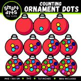 Counting Ornament Dots Clip Art