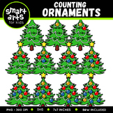 Counting Ornaments Clip Art