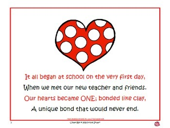 Counting Our Hearts Out to the 100th Day of School!-Original Story in PowerPoint