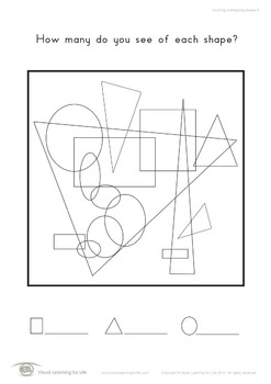 Counting Overlapping Shapes