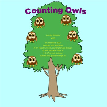Counting Owls 2 Smart Notebook