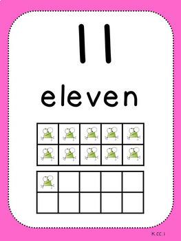 Counting Pack 1 (Kindergarten)