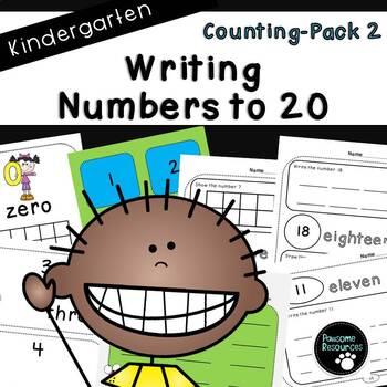 Counting Pack 2 (Kindergarten)