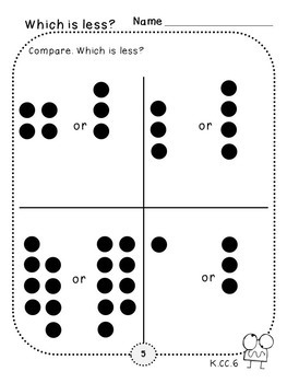 Counting Pack 4 (Kindergarten)