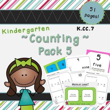 Counting Pack 5 (Kindergarten)