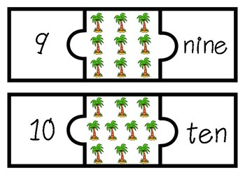 Counting Palm Trees