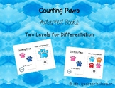 Counting Paws Book - Adapted Book