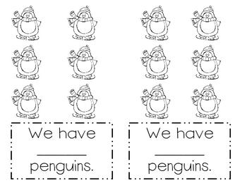 Counting Penguins... Emerging Reader