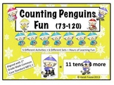 Counting Penguins Fun (73-120)! (Common Core Aligned)