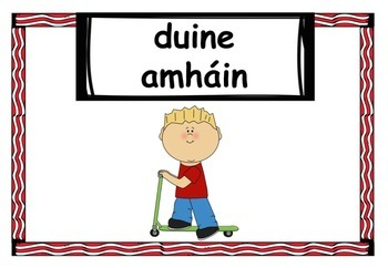 Counting People (Gaeilge) Ag Comhaireamh Daoine