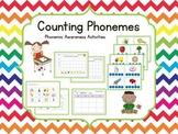 Counting Phonemes {Word Work} Phonemic Awareness Activities