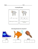 Counting Phonemes Worksheet