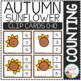Counting Picture Clip Cards 0-10: Autumn 2
