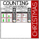 Counting Picture Clip Cards 0-10: Christmas Bundle