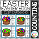 Counting Picture Clip Cards 0-10: Easter