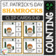Counting Picture Clip Cards 0-10: St. Patrick's Day 2