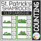 Counting Picture Clip Cards 0-10: St. Patrick's Day Bundle