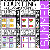 Counting Picture Clip Cards 0-10: Summer