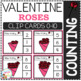 Counting Picture Clip Cards 0-10: Valentine's Day 2