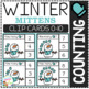 Counting Picture Clip Cards 0-10: Winter 2