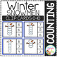 Counting Picture Clip Cards 0-10: Winter Bundle