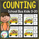 Counting Picture Clip Cards 0-20: Bundle 2